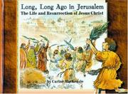 Cover of: Long, Long Ago in Jerusalem