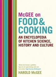 Cover of: McGee on Food and Cooking