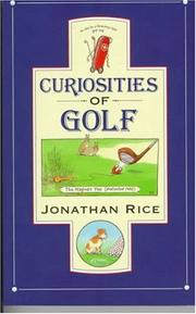 Cover of: Curiosities of Golf