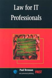 Cover of: Law for It Professionals