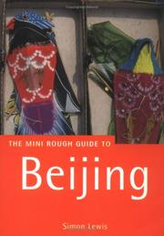 Cover of: The Rough Guide to Beijing 1