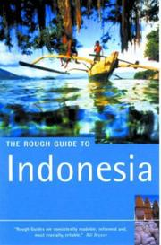 Cover of: The Rough Guide to Indonesia