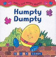 Cover of: Humpty Dumpty (Baby's First Nursery Rhymes) | Caroline Davies