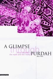 Cover of: glimpse through purdah | Sitara Khan