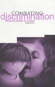 Cover of: Combating Discrimination | Babette Brown