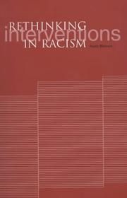 Cover of: Rethinking Interventions In Racism