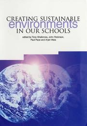 Cover of: Creating Sustainable Environments in Our Schools |
