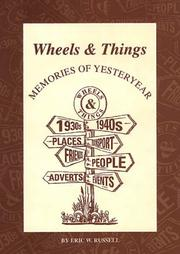 Cover of: Wheels and things