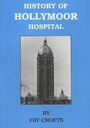 Cover of: History of Hollymoor Hospital