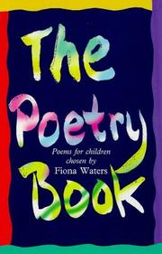 Cover of: The Poetry Book