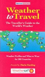Cover of: Weather to Travel (Tomorrows Redbooks)