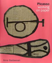 Cover of: Picasso Working on Paper
