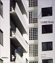 Cover of: Berthold Lubetkin