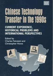 Cover of: Chinese technology transfer in the 1990