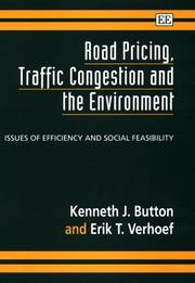 Cover of: Road pricing, traffic congestion and the environment |