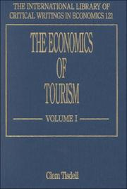 Cover of: The Economics of Tourism