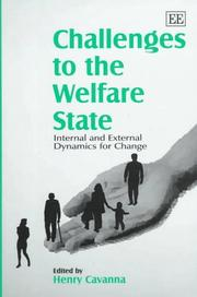 Cover of: Challenges to the Welfare State