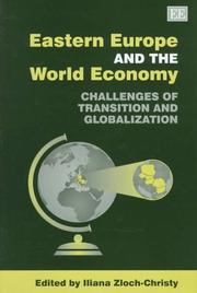 Cover of: Eastern Europe and the world economy |