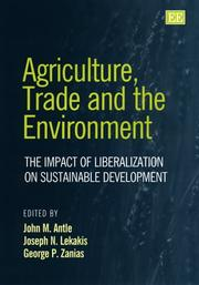 Cover of: Agriculture, trade, and the environment