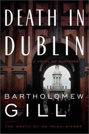 Cover of: Death in Dublin | Bartholomew Gill