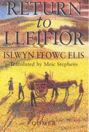 Cover of: Return to Lleifior