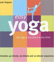 Cover of: Easy Yoga