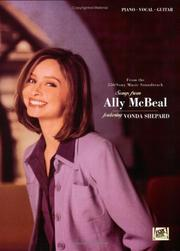 "Cover of: Songs from """"Ally McBeal"""""" (Film & TV)"