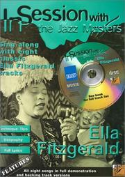 Cover of: In Session with Ella Fitzgerald with CD (Audio) (Popular Singing Books)