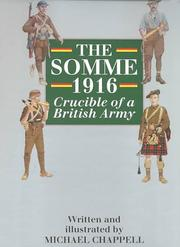 Cover of: The Somme 1916