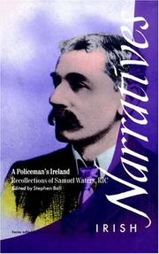 Cover of: A policeman's Ireland