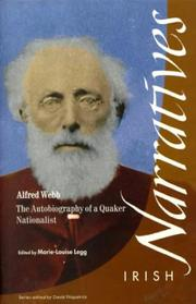 Cover of: Alfred Webb