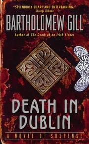 Cover of: Death In Dublin (Peter McGarr Mysteries)