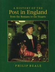 Cover of: A history of the post in England from the Romans to the Stuarts
