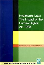 Cover of: Healthcare Law