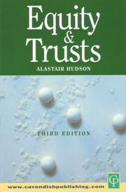 Cover of: Equity and trusts