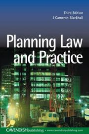 Cover of: Planning Law & Practice | Blackhall