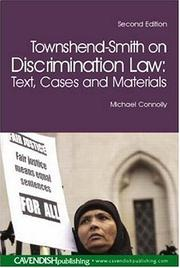 Cover of: Townshend-Smith on discrimination law