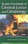 Cover of: Student handbook of criminal justice and criminology by