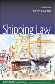 Cover of: Shipping Law
