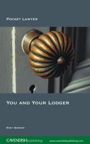 Cover of: You and Your Lodger 2/e