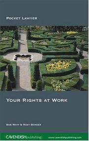 Cover of: Your Rights at Work 2/e