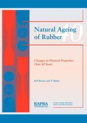 Cover of: Natural ageing of rubber