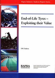 Cover of: End-of-life Tyres
