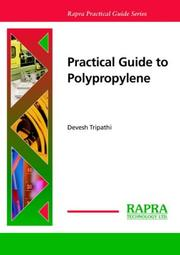 Cover of: Practical Guide To Polypropylene