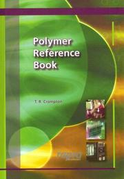 Cover of: Polymer Reference Book | T, R Crompton