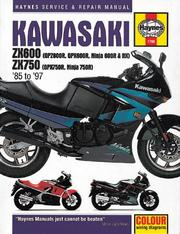 Cover of: Kawasaki ZX600 & 750 fours service & repair manual | John Harold Haynes