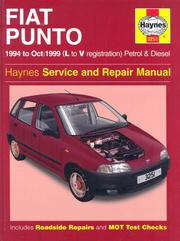Cover of: Fiat Punto (1994-1999) Service and Repair Manual by John Harold Haynes, Spencer Drayton