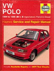 Cover of: VW Polo Hatchback (1994-99) Service and Repair Manual