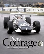 Cover of: Piers Courage