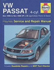Cover of: VW Passat (96-00) Service and Repair Manual